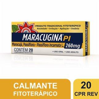 Maracugina Pi 260mg 20 Comprimidos Revestidos