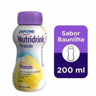Suplemento Alumentar Nutridrink Protein Baunilha 200ml