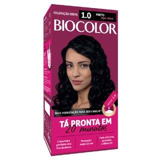 Tintura Biocolor 1.0 Preto Mini Kit