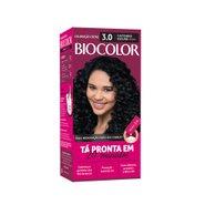 Tintura Biocolor 3.0 Castanho Escuro Mini Kit