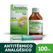 Analgésico Novalgina 50mg/ml Solução Oral Framboesa 100ml