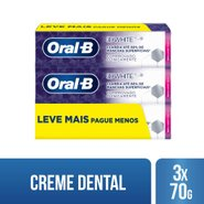 Kit Creme Dental Oral-B 3d White 70g Leve 3 Pague 2