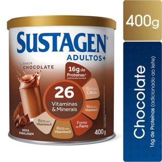 Complemento Alimentar Sustagen Adultos+ Sabor Chocolate Lata Com 400g