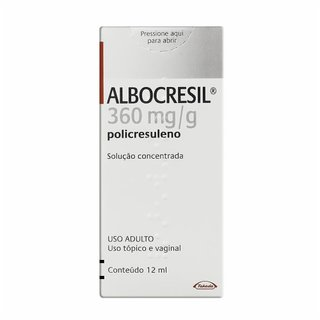 Albocresil Sol 12ml