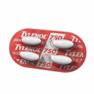 Analgésico Tylenol® Blister 750mg 4 Comprimidos