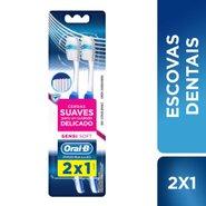Escova Dental Oral-b Pro-saúde Sensi-soft Leve 2 Pague 1