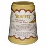 Cera Depilatória Quente Anadrey Chocolate Branco 200g