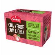 Chá Verde Com Lichia Sanitas Lifar 22,5g 15 Unidades