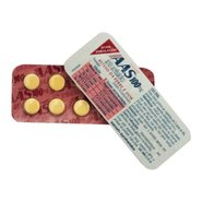 Aas (acido Acetil Salicilico) Infantil C/ 10 Comprimidos