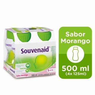 Souvenaid Sabor Morango Com 4 Unidades 125ml Cada