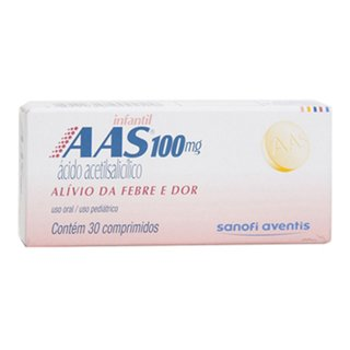 Aas Infantil 30 Comprimidos