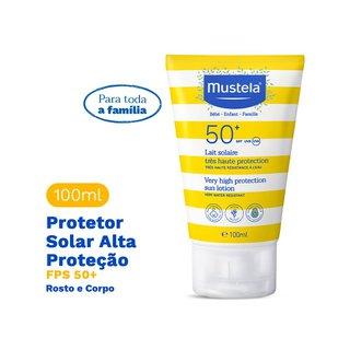 Protetor Solar Inf Mustela Fps50 100ml