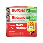 Lencos Umedecidos Huggies Max Clean Leve 4 Pague 3