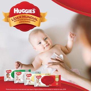 Lenços Umedecidos Huggies Max Clean Leve 4 Pague 3