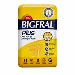Fralda Geriátrica Bigfral Plus C/8