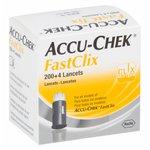 Lancetas Accu-Chek Fastclix Com 204 Unidades