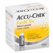 Lancetas Accu-chek Fastclix Com 102 Unidades