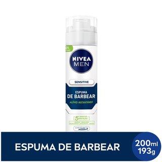 Espuma De Barbear Nivea Sensitive 193g
