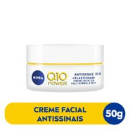 Creme Facial Antissinais Dia Nivea Q10 Power Fps30 50g