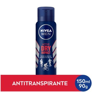 Desodorante Nivea Dry For Men Aerosol 150ml