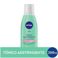 Tonico Adstringente Facial Nivea Controle Do Brilho Efeito Matte 200ml