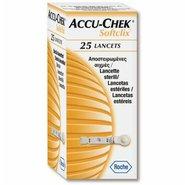 Lancetas Accu-chek Softclix Ii Com 25 Unidades