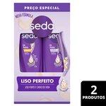 Kit Seda Liso Perfeito Shampoo + Condicionador 325ml