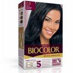 Tintura Biocolor 2.0 Preto Azulado