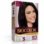 Tintura Biocolor 5.0 Castanho Claro Luxo