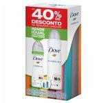 Kit Desodorante Dove Aerossol Invisible Dry 100g + Comprimido Com 40% Desconto