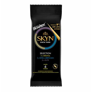 Preservativo Blowtex Skyn Selection C/6