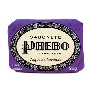 Sabonete Em Barra Phebo Toque De Lavanda 90g