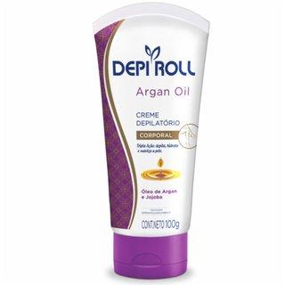 Creme Depilatório Depilroll Corporal Argan Oil 100g