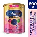 Fórmula Infantil Enfamil Premium 2 Lata Com 800g