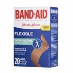 Curativos Band Aid Flexível Com 20 Unidades