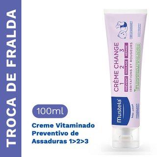 Creme Vitaminado 123 Mustela 110g