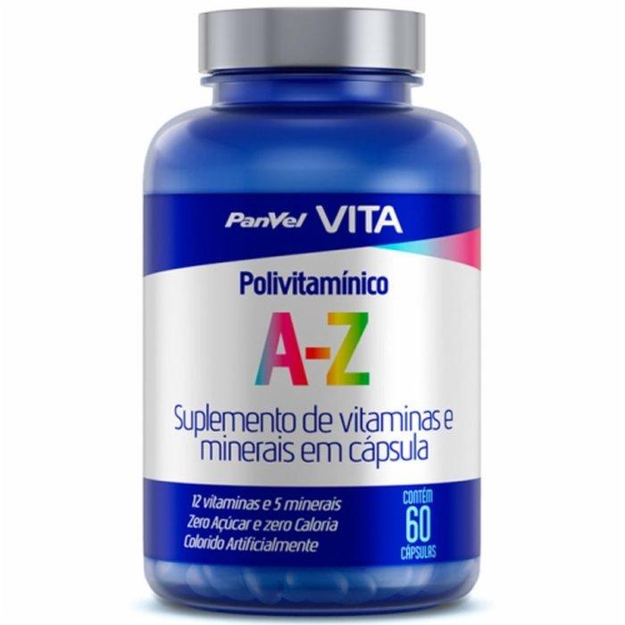 24d5e87b8538d Polivitamínico De A A Z Panvel Vita Com 60 Cápsulas - PanVel Farmácias
