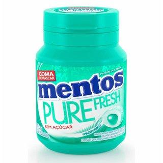 Goma De Mascar Mentos Wintergreen Garrafa 56g