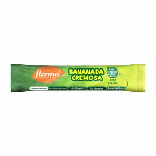 Bananada Cremosa Zero Flormel 22g