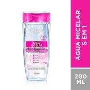 Agua Micelar LOreal Solucao De Limpeza Facial 5 Em 1 200ml