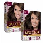 Compre Tintura Biocolor Beleza Absoluta Cor Louro Arraso e Ganhe 50% na Segunda Unidade