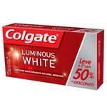 Kit Creme Dental Colgate Luminous White 70g