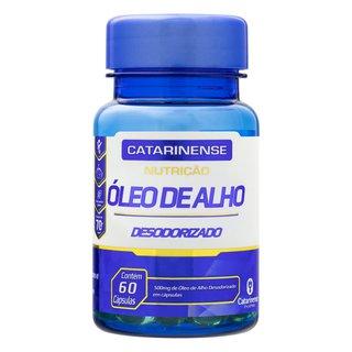 Oleo Alho Desodorizado Catarinense 60 Cápsulas