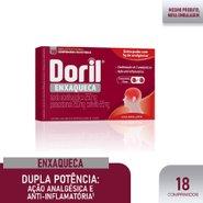 Doril Enxaqueca 18 Comprimidos