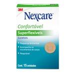 Curativos Nexcare Superflexiveis Redondo C/15