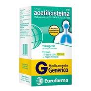 Acetilcisteina 20mg/ml 150ml  Eurofarma Genérico L