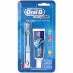 Kit Viagem Oral-B Complete Escova Travel + Creme Dental 20g