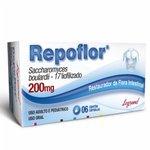 Repoflor 200mg 6 Cápsulas Gelatinosas Duras