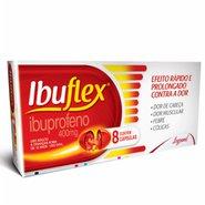 Ibuflex 400mg 8 Cápsulas Gel