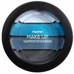 Quarteto De Sombras Panvel Make Up Azul